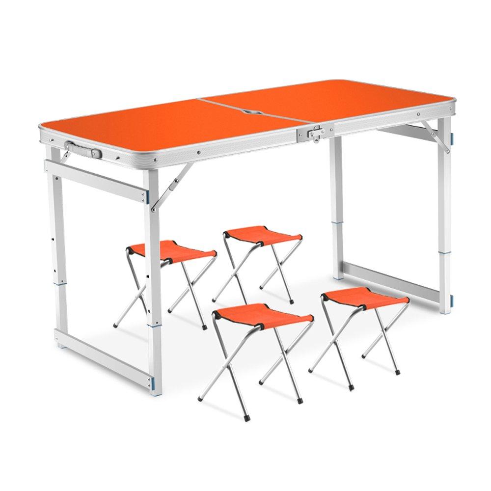 折りたたみ式テーブル折り畳み式折り畳み式折り畳み式ダイニングテーブルポータブルアルミテーブルイベントプロモーションテーブル ( 設計 : 2 ) B078Z8WRTJ 2  2