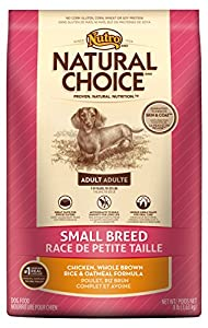 NATURAL CHOICE Small Breed Adult Chicken, Whole Brown Rice and Oatmeal Formula - 8 lbs. (3.63 kg)