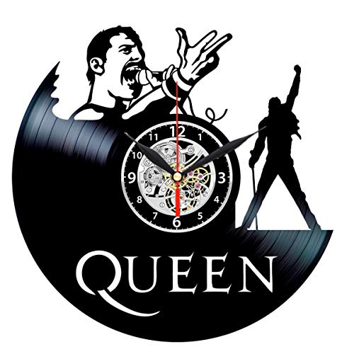 Queen Vinyl Clock - Record Wall Decor - Rock Music Gifts for Men