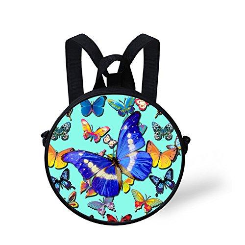 Bag Shoulder Print V6lcc3093i FancyPrint Cute Round Handbag Cute Round HAYn0q