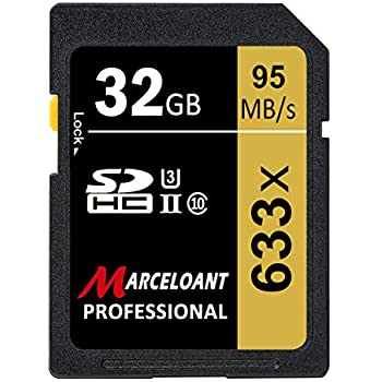 Amazon.com: 32GB SD Card, BOYMXU Professional 1000 x Class ...