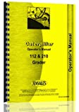 Caterpillar 112 120 Grader Operators Manual