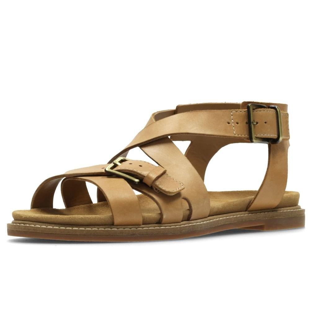 75363d280c9 Clarks Corsio Bambi Womens Strappy Sandal 9 Light Tan  Amazon.co.uk  Shoes    Bags
