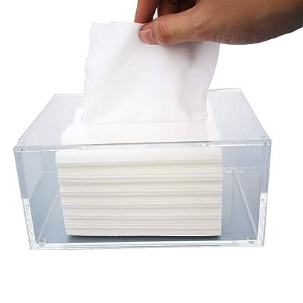 Xiaoyu Caja de pañuelos, Caja de Almacenamiento de Toallas de Papel higiénico de la Sala