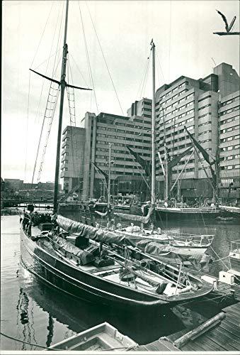 - Vintage photo of The 65ft jolie brise the british ocean racer.