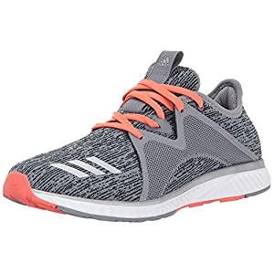 adidas Performance Women's Edge Lux 2 Running Shoe, Grey Three/Metallic Silver/Easy Coral, 10.5 Medium US