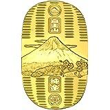 純金大判『富士山』 (76x126mm) - 光則作