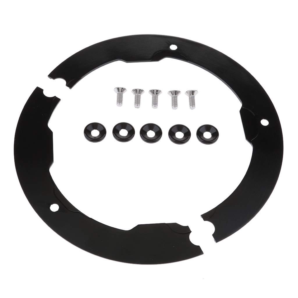 perfk Guardía tapa de Polea de Transmisión Repuesto para Yamaha Tmax530 Negro Facíl Instalar: Amazon.es: Coche y moto