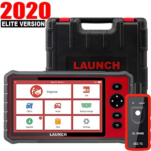 "LAUNCH CRP909E OBD2 Scanner 7""inch touch screen Full System Car Diagnostic Scan Tool,15 Reset Functions Automotive Code Reader,Key Programming,TPMS,SAS,DPF,BMS,IMMO,ABS Bleed,Auto VIN WiFi Free Update"