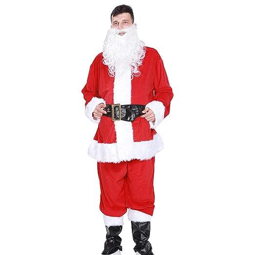 Aihifly Traje de Navidad Traje Adulto de Navidad para Hombre ...