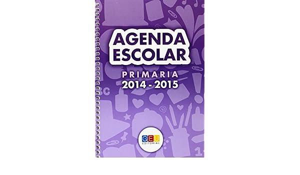 AGENDA ESCOLAR PRIMARIA 2014-2015 ESPIRAL: 8436548130749 ...