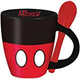 Disney Mickey Signature Shorts Espresso Cup with Spoon