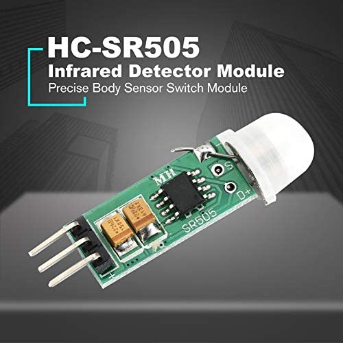 ouying1418 HC-SR505 Mini Infrared PIR Motion Sensor Precise Infrared Detector Module