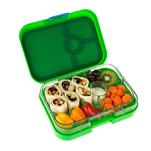 yumbox panino pomme green leakproof bento lunch box. Black Bedroom Furniture Sets. Home Design Ideas