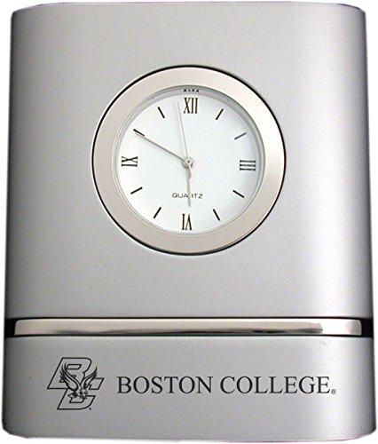 Toned Desk Clock -Silver ()