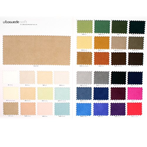 (Authentic Ultrasuede(R) Soft Color Chart)