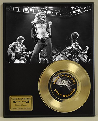 Led Zeppelin Limited Edition Gold 45 Record Display. Only 500 made. Limited quanities. FREE US SHIPPING by Classic...