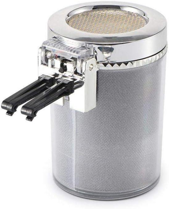 Oficina hogar Daxoon Cilindro port/átil de la Ceniza de Humo del cenicero del Coche LED Que Brilla para el Coche