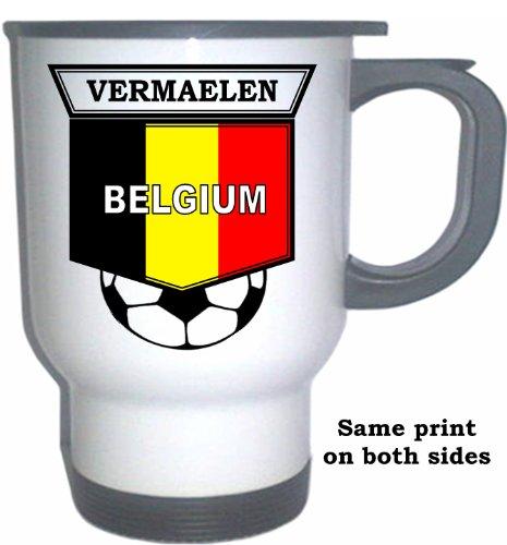 Thomas Vermaelen (Belgium) Soccer White Stainless Steel Mug