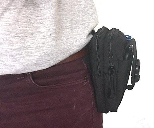 83style Taille Pack | Tactical MOLLE EDC (Pocket Organizer | für mit Handy, Gadgets, Medikamente und Werkzeuge | Kleine Tasche–Größe 16cm x 12cm x 5cm | ideal für Camping Wandern Klettern Radfahr