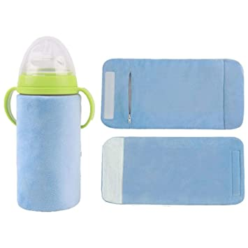 Tragbares Outdoor-Auto Baby Milch USB Heizung Abdeckung wärmer Flaschenwärmer