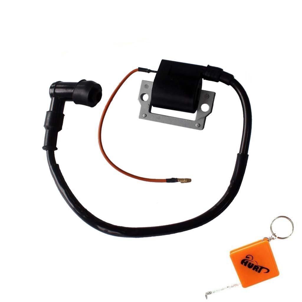 HURI Ignition Coil for Yamaha Golf Cart G1 1978 1979 1980 1981 1982 1983 1984 1985 1986 1987