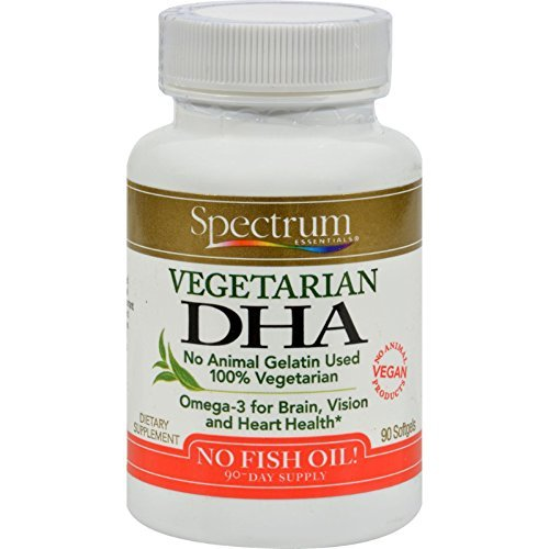 Spectrum Essentials Vegetarian Dha 90 Sgel by Spectrum