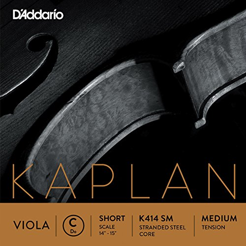 D'Addario Kaplan Viola Single C String, Short Scale, Medium Tension by D'Addario Woodwinds