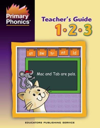 Primary Phonics Teacher's Guide, Grades 1, 2, 3