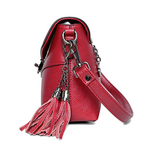 Mensajero Rojo Meaeo Bolso Pequeña Bolsa Fiesta Moda De Bolsa d4cfqnZRd