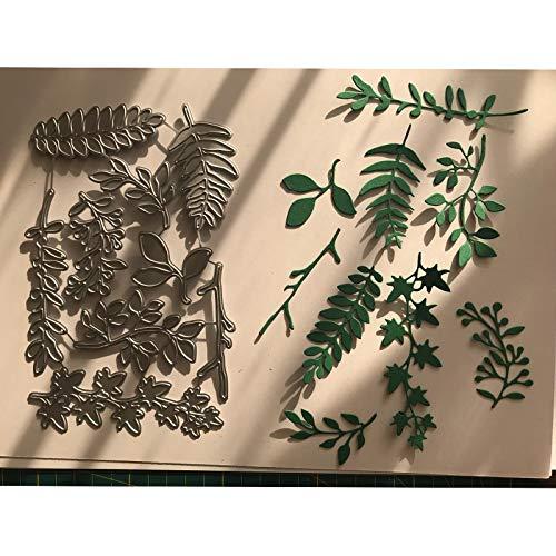 Best Quality - Cutting Dies - 110175mm Leaf Metal Dies Cutting for Scrapbooking Dies Metal Easter DIY Gift Card Craft Dies New 2017 - by SeedWorld - 1 PCs
