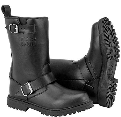 BLACK BRAND ブラックブランド THUG BOOTS ライディングブーツ ブラック 10(約27cm) B079YCZP4F  10(約27cm)