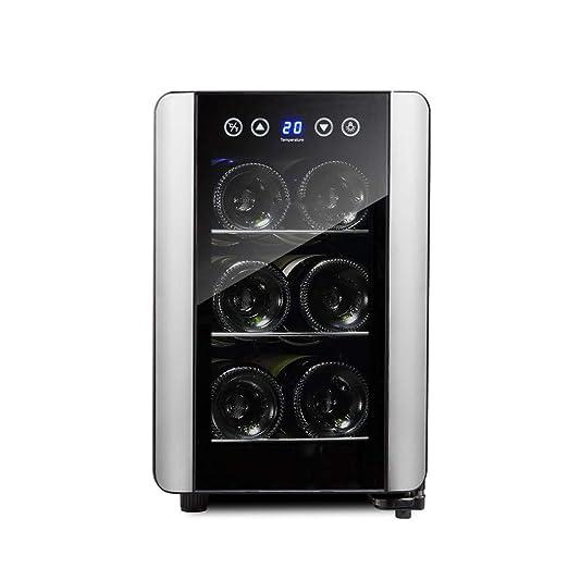 Capacidad 6 Botellas Vinoteca Nevera para Bebidas Refrigerador ...