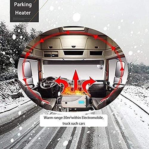 bulorrow 12V 5000Wディーゼルエアヒーターエアディーゼルパーキングヒーターキット温暖化装置10Lタンクトラックボートカートレーラーツーリングカーキャンピングカーキャンピングカーキャラバン用リモートコントロールLCDディスプレイ