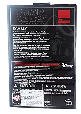 Star Wars, 2015 The Black Series, Kylo Ren [The Force Awakens] Exclusive Action Figure, 3.75 Inches