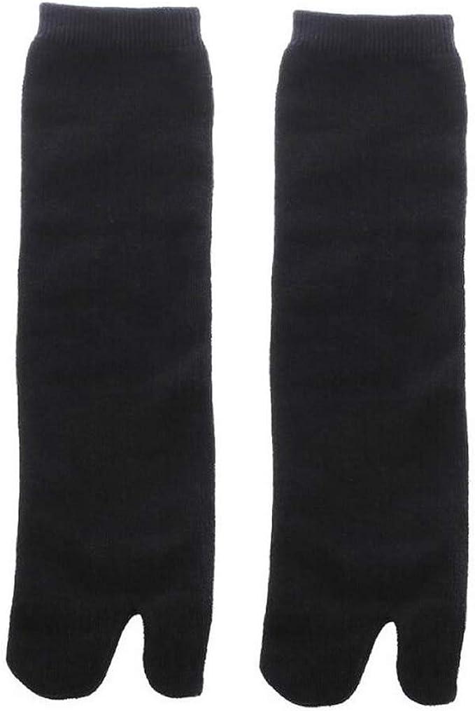 GOOTRADES Unisex Japanese Kimono Flip Flop Sandal Split Toe Tabi Ninja Geta Socks