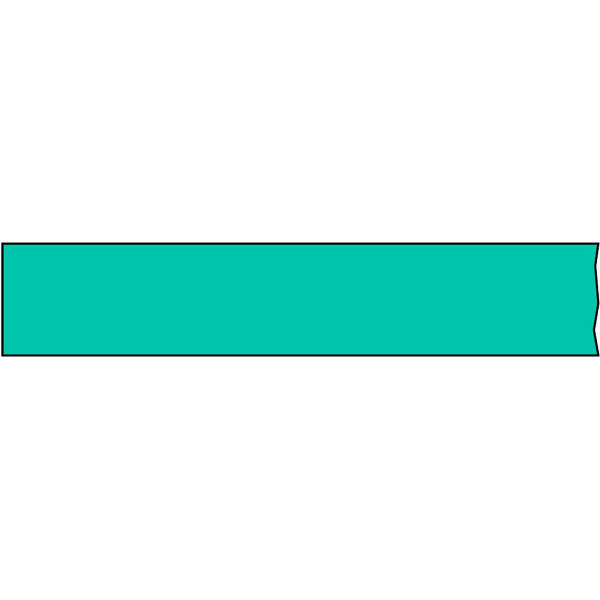 TIMETAPE T-3460-16 Tape, Removable, 3'' Core, 3/4'' x 2160'', Imprints Aqua (Pack of 1)