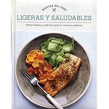 Libro cocina recetas del chef: ligeras y saludables