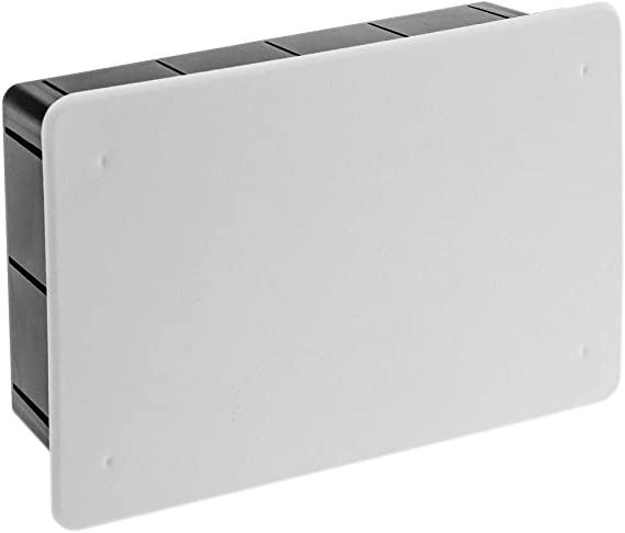 BeMatik - Caja empotrada de Registro eléctrico Rectangular ...