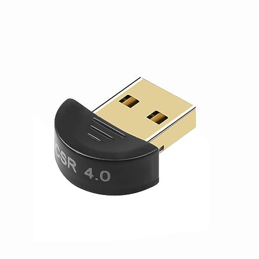 GENERIC Ultra Mini Bluetooth CSR 4.0 USB Dongle Adapter for Windows Computer   Black:Golden  Wireless USB Adapters