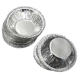 Amazon Com 125pcs Tart Pans Disposable Aluminum Foil