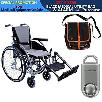 Amazon.com: S-Ergo 125 Silla de ruedas ergonómica, tamaño ...