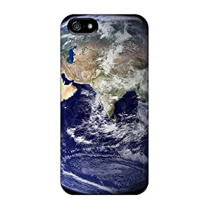 Brand New 5/5s Defender Case For Iphone (outer Space Earth)