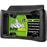 BumpShox 3.0 - Front Car Bumper Protection, Ultimate Front Bumper Guard. Front Bumper Protection License Plate Frame. Tougher Than Steel !