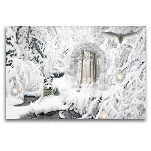 CALVENDO Toile Murale en Textile de qualité supérieure 120 x 80 cm