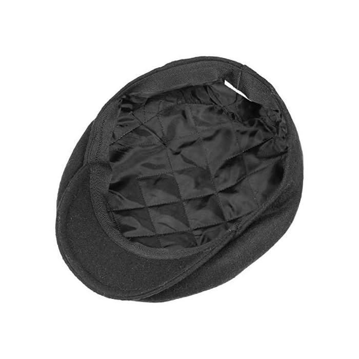 51RAl3sdcpL MADE IN ITALY // Esta clásica gorra Gatsby impresiona con su calidad y su elaboración, fabricada en Italia LARGURA DE LA VISERA 4,8 CM // La estrecha visera de la gorra deportiva la convierte en un centro de atención. Estilo de siempre que no pasa de moda 80% LANA, 20% POLIÉSTER // La gorra de lana posee un alto porcentaje de lana de un 80 %. El forro interior (100% poliéster) hace que sea un complemento perfecto para la cabeza en primavera o invierno, además de ser también adecuada para invierno