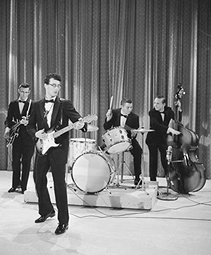 - Photo Buddy Holly 8 x 10 Glossy Picture Image #1