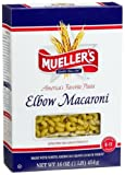 Mueller's Elbow Macaroni Pasta, 1-pounds (Pack of 10)