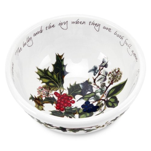 - Portmeirion The Holly & The Ivy Individual Fruit Bowl