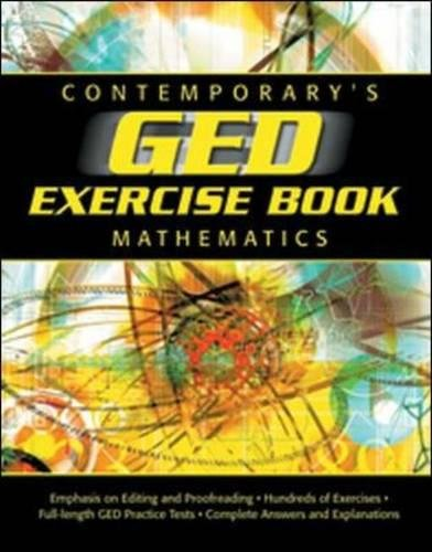 GED Exercise Book: Mathematics (GED Calculators)